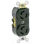 Duplex Locking Receptacle