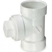 "MUELLER 06004 4"" PVC FTG CLEAN OUT ADAPTER"