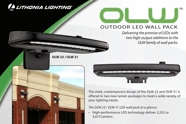Lithonia OWL LED Fixture Butler Supply